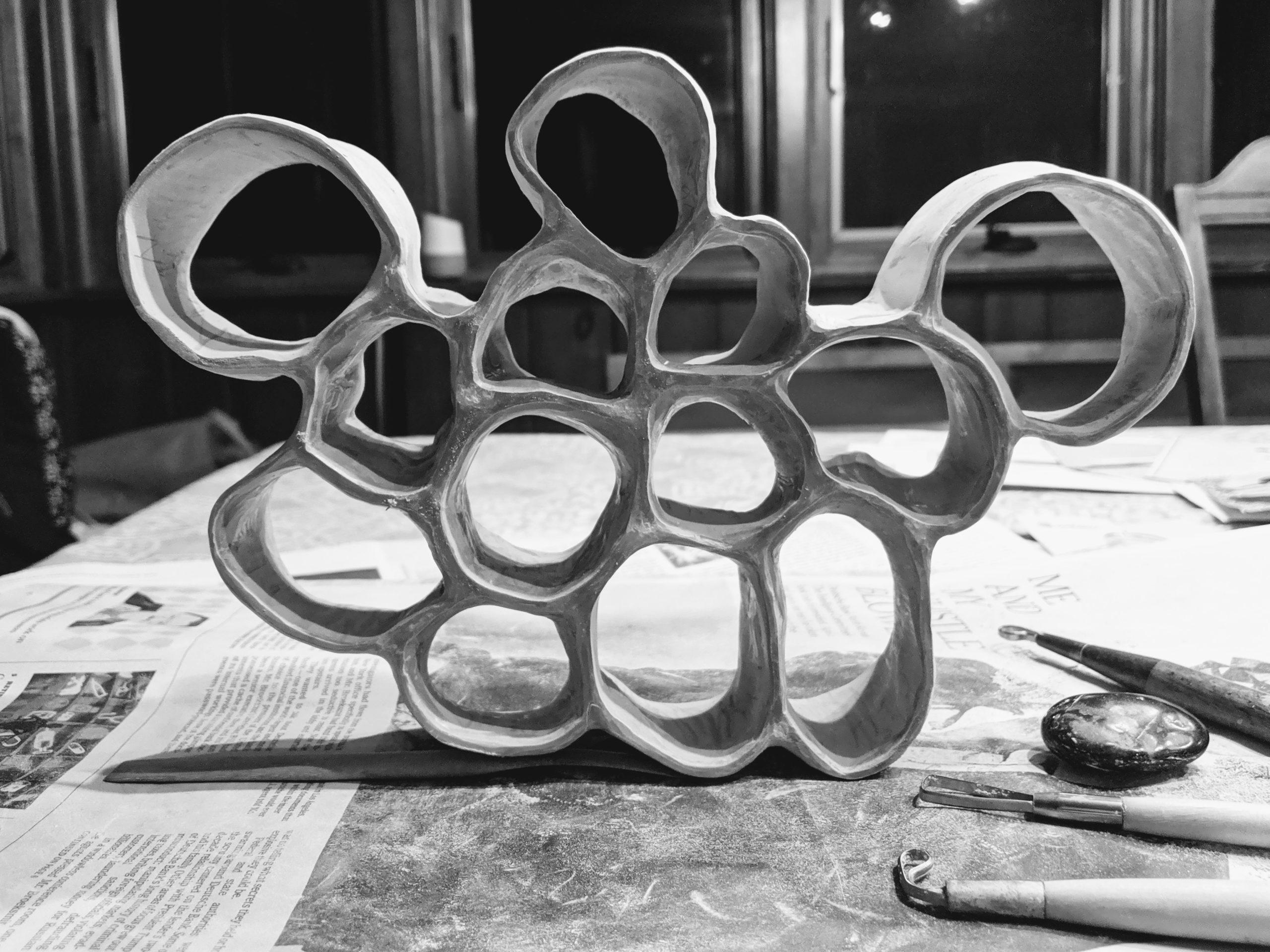 Ceramic honeycomb structure